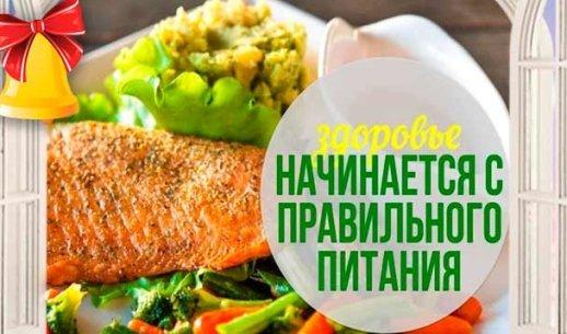 Правильное питание: меню на каждый день для снижения веса в кратчайший срок