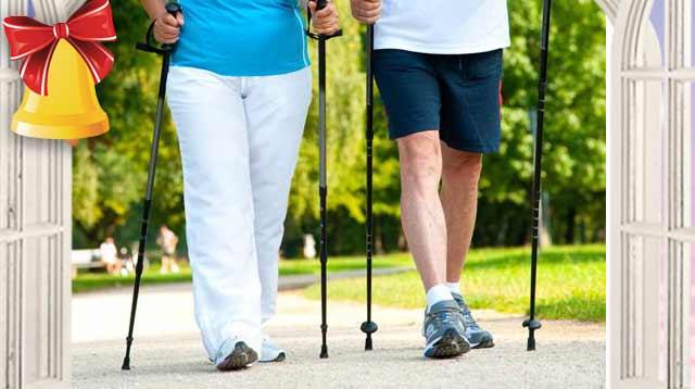 Скандинавская ходьба с палками: техника для пожилых
